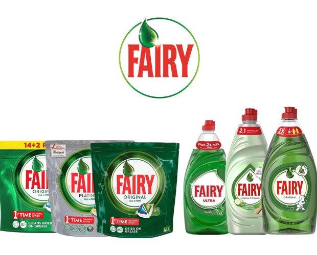 Fairy. Surtido de toda la gama fairy a muy buen precio.