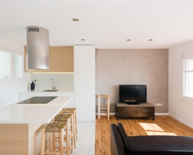 Apartamento. Interiorismo en vivienda
