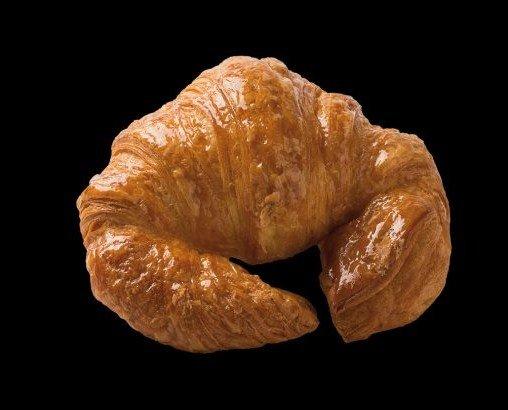 Croissant artesano. Peso: 90 gramos