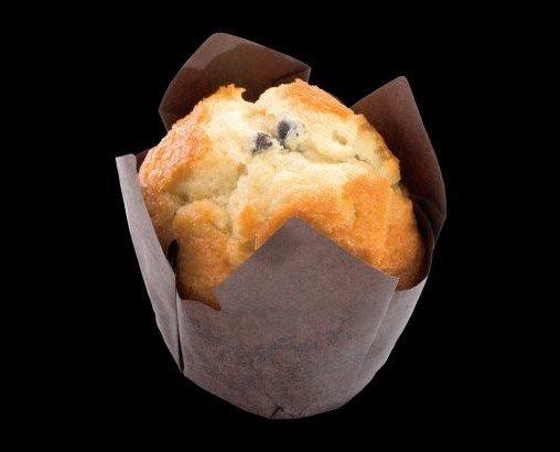 Muffin. Con pepitas de cacao