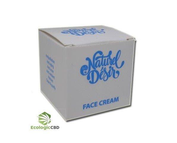 Crema Facial CBD. Se emplea en el tratamiento de problemas como los eccemas, alergias y acné