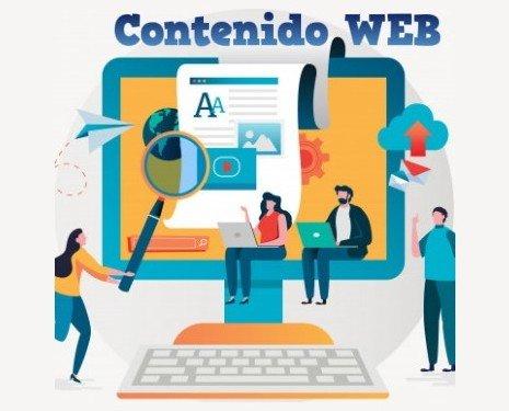 Contenido WEB. Redacción de textos para páginas web con posicionamiento SEO