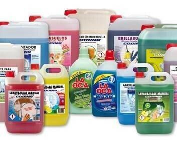 Limpieza profesional. Productos de limpieza de gama profesional