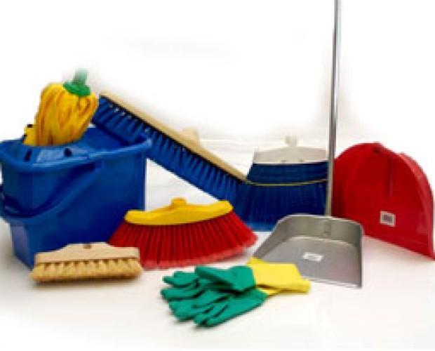 Artículos de limpieza. Utensilios de limpieza