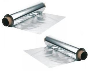 Papel aluminio . De 30cm, 6 rollos por caja