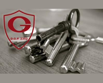 Custodia de llaves. Servicios de acuda y custodia de llaves