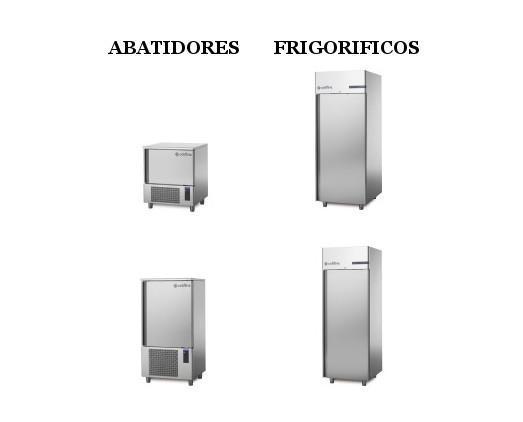 Coldline. Abatidores y frigoríficos
