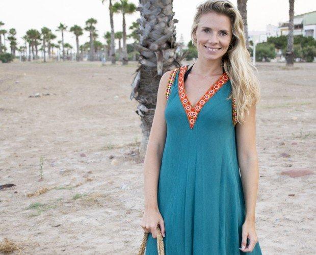 Vestido apmlio. Vestido amplio ideal para la playa
