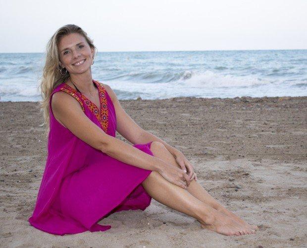 Vestido Ibiza. Vestido midi de playa amplio