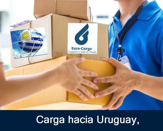 Carga hacia Uruguay. Transporte Carga marítima de 1mt3 a 1 contenedor