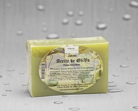Jabón aceite de oliva. Hidrata la piel