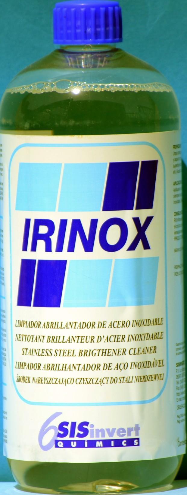Limpiador Acero Inox. Limpiador-abrillantador de superficies en acero inoxidable