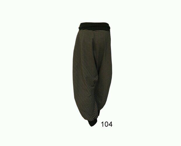 Pantalón Ancho. Fabricado en una felpa de doble cara con suave perchado interior
