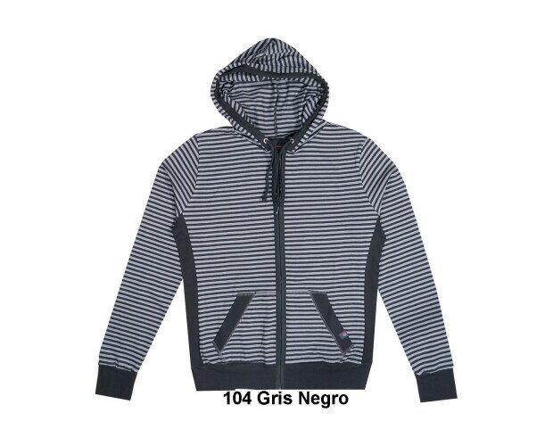 Camiseta con Capucha. Elaborada con nuestro tejido de camisetas de 50% algodón y 50% poliéster