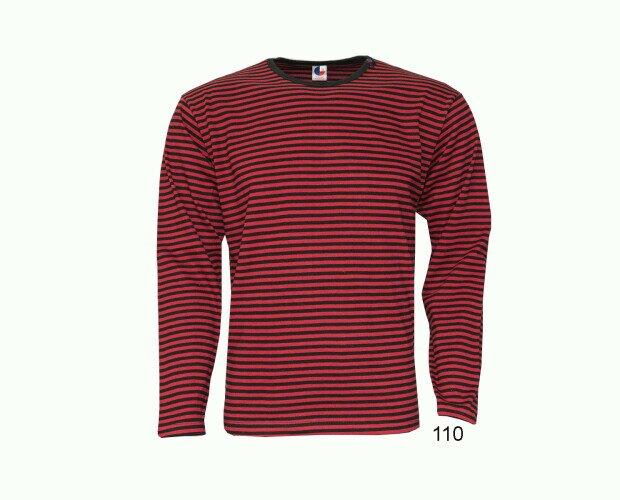 Camiseta de Rayas. Elaborada con hilados tintados de gran calidad