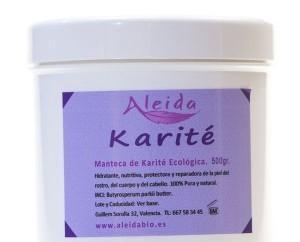 Manteca de karité biológica. Productos de cosmética