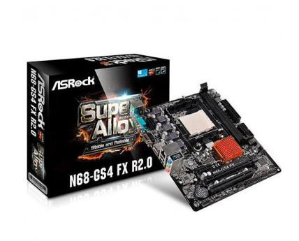 Placa base Asrock. Esta placa soporta Procesador AM3+ 8-Core
