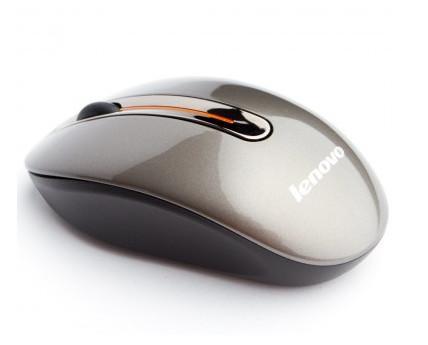 Ratón óptico Lenovo. Ratón inalámbrico de tres botones con un dongle nano para que disfrutes el control libre