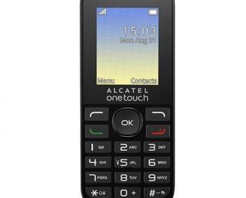 Movil Alcatel. Teléfono simple, sencillo y duradero
