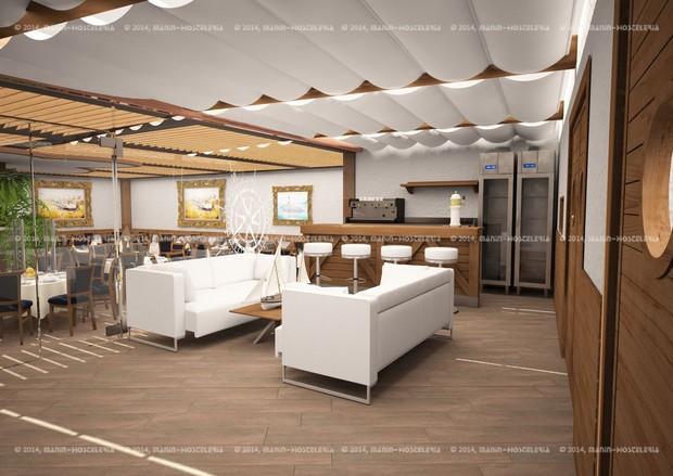 Diseño Restaurante. Proyecto de restaurante y decoración.