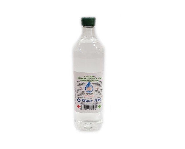 Loción Hidroalcohólica. De 72,5% Alcohol etílico, glicerina, agua osmotizada