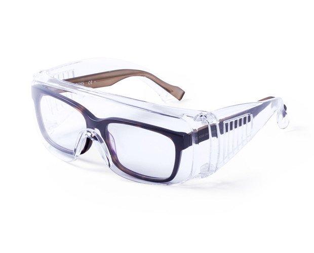 Gafas de seguridad Hezal. Protección con montura universal y cómodo ajuste