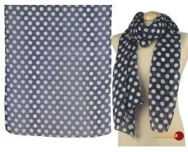 Fular de seda. Elaborado con 100% seda