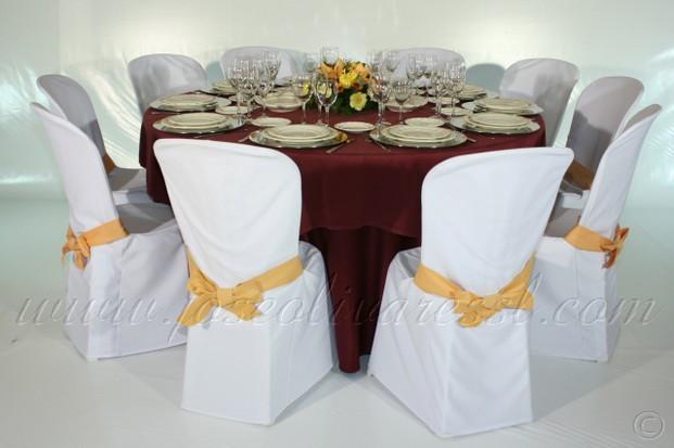 Renting de textil para hostelería. Alquiler de mantelería completa
