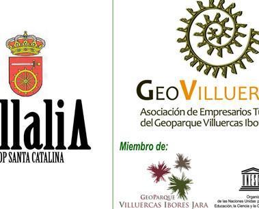 Logo. Logo de la marca y del Geoparque en el que está la Cooperativa