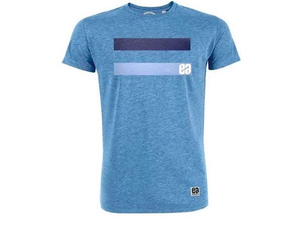 Camiseta Essential Blue. Tacto ultra suave y diseño estampado