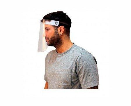 Pantalla Facial Protectora. Diseñada para proporcionar una barrera de protección en el área de la cara
