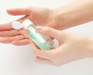 Gel hidroalcohólico. Gel hidroalcohólico desinfectante para manos