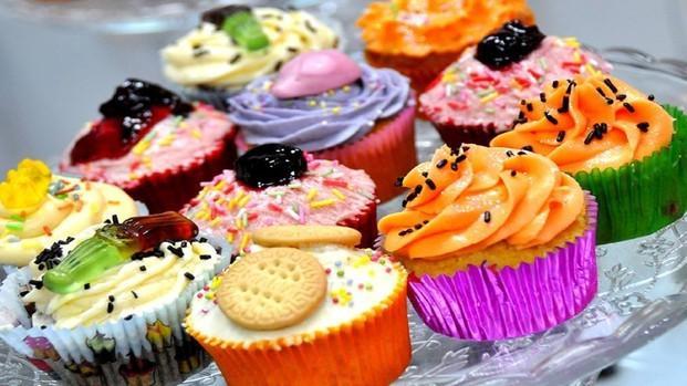 Surtido de Cupcakes.