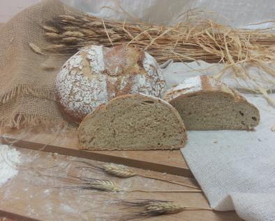 Pan de Payés integral. Tierno durante varios días