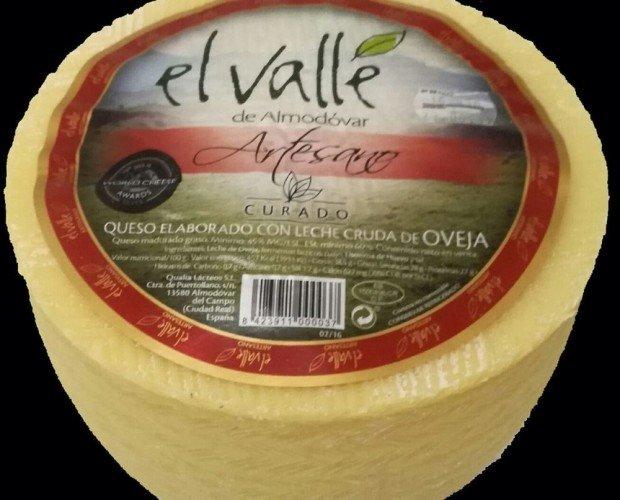 Queso Oveja El Valle. Leche cruda de oveja