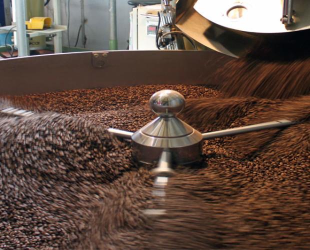 Café Ecológico.Café recién tostado