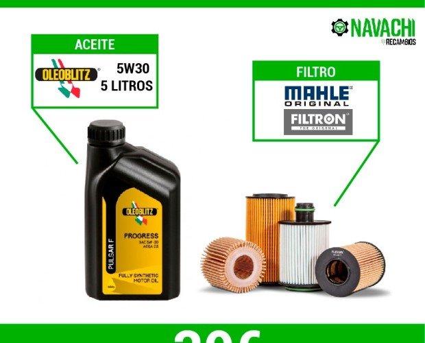 Aceite + Filtro. Kit de mantenimiento