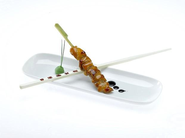 Brocheta Pollo. Brochetas de pollo. Ideal coctel, varios tipos