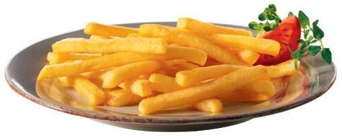 Patata lutosa. Patatas fritas congeladas