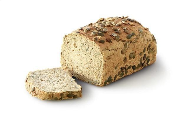 Pan con pipas. Pan con pipas de calabaza, 750 gr,fabricado con masa madre natural