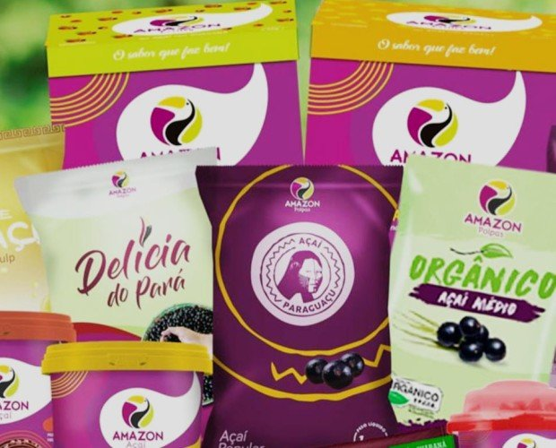 Productos de Açaí. Pulpas orgánicas Açaí Listo para Consumo: 200g 500g 1,5kg 3,2kg 5kg