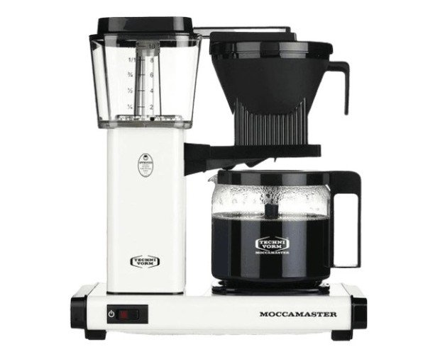 Cafetera Moccamaster . Para una experiencia de extracción y degustación perfecta
