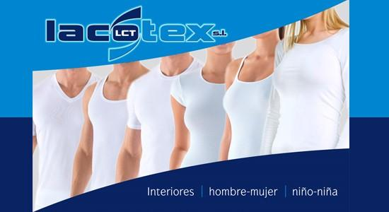 Lacotex interior. Amplia gama de camisetas interiores, 100% made in Spain