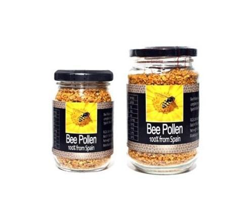 Miel Natural.Polen de abeja. Polen 100% español