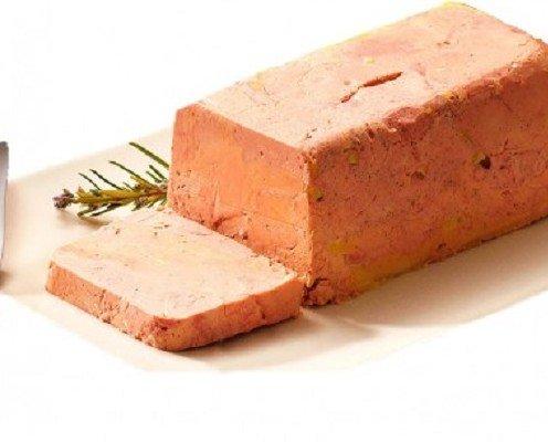 Micuit foie de pato. Cocinado tradicionalmente con corto tratamiento de calor