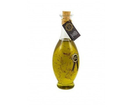 Aceite al azafrán. Obtenido de primera extracción en frio