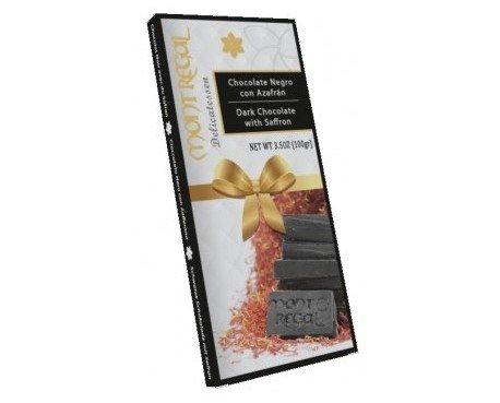Chocolate negro al azafrán. El azafrán consigue darle un toque distinguido