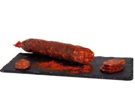 Chorizo cular de ciervo. Con carne de cerdo blanco de Teruel
