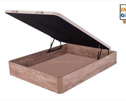 Canapé de madera. Canapé laminado en madera con gran capacidad útil