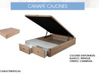 Canape Cajones